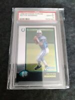 1998 Bowman Chrome Peyton Manning ROOKIE RC #1 PSA 10 GEM MINT 🔥  🔥