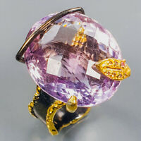 Ametrine Ring Silver 925 Sterling 24x19 mm. IF Quality Size 8 /R139357