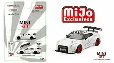Mini GT 1:64 Liberty Walk LB Works Nissan GT-R R35 MGT00064 Diecast Car White
