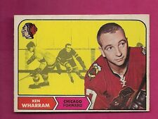 1968-69 OPC # 22 HAWKS KEN WHARRAM GOOD CARD  (INV#5827)