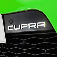 SEAT CUPRA Schriftzug Logo Emblem Zeichen badge Original z.B. Leon 1P Stoßstange