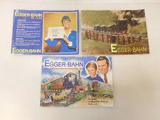 X-62986Egger-Bahn Katalog,Prospekte 1965/66 mit Gebrauchsspuren,innen sauber,