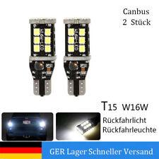 Paar  W16W T15 LED Canbus Rückfahrlicht Rückfahrleuchte 700LM BMW VW AUDI#1