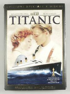 "PRL) DVD VIDEO ""TITANIC"" EDIZIONE SPECIALE 2 DISCHI F4-SITSSE 23197DE FILM MOVIE"