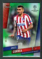 2020 ANGEL CORREA 88/99 TOPPS FINEST UEFA CHAMPIONS LEAGUE