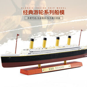 Hot Sale! Atlas Diecast  R.M.S TITANIC 1:1250 Cruise Ship Model Boat Toys