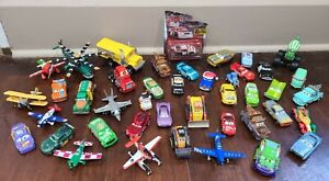 Disney Pixar Cars 1/55 Scale Lot Of 43 Diecast