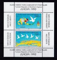 Türkisch-Zypern 1995 postfrisch Europa MiNr. Block 14 Frieden und Freiheit