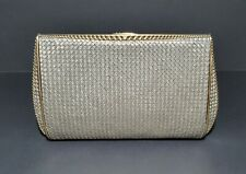 EXCLUSIVE STERLING SILVER AND SOLID 18K GOLD EVENING CLUTCH