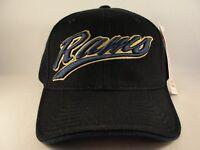 Los Angeles Rams NFL St Louis Vintage Adjustable Strap Hat Cap Black