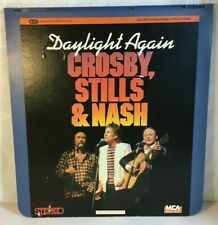Selectavision Video Disc Daylight Again Crosby Stills and Nash