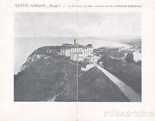 * VETTA MARINA (Sirolo) - Cartolina Doppia - Proprietà Cav.Bianchelli 1906