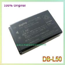 Genuine Original SANYO DB-L50 DBL50 Li-ion Battery Xacti VPC-TH1 VPC-WH1 VPC-FH1