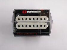 DiMarzio Super Distortion 8 String Bridge Humbucker White W/Black Poles DP 812
