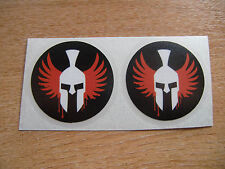 2x Jorge Lorenzo Spartan Decals / stickers 50mm
