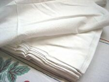 7 Plain Vintage Feedsack Style Tea Towel Flour Sack For Embroidery Days Week Lot