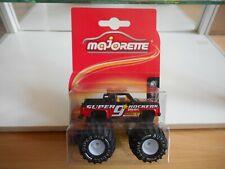 Majorette Rockers Monster truck Depanneuse in Red/Black on Blister