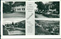 Ansichtskarte Durbach Gasthaus Linde Schwimmbad  (Nr.9639)