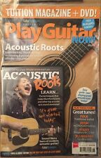 Play Guitar Now Acoustic Roots Free DVD Folk Bluegrass UK 2014 FREE SHIPPING!