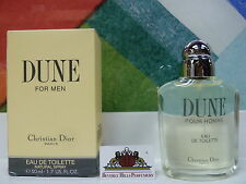 DUNE BY DIOR FOR MEN EAU DE TOILETTE SPRAY 1.7 OZ / 50 ML NEW IN BOX