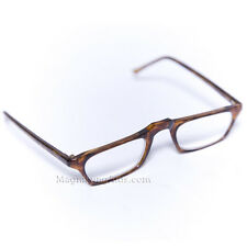 +3.5 Diopter Reading Glasses Tortoise Frame High Quality Easy to See Low Vision