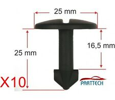 x10  AUDI 100, 80. A4 - A6 A8 TT WHEEL ARCH COVER FASTENER CLIPS