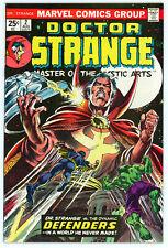 DOCTOR STRANGE #2 (Marvel 1974) VF condition! SIGNED by Frank Brunner! NO RES