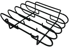 Rib Rack Grill Smoker Oven 4 Racks of Ribs Nonstick Dishwasher Safe Easy Clean