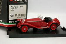Brumm 1/43 - Alfa Romeo 1750 GS Zagato 1931 Rouge