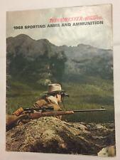 Original 1968 Winchester Gun Rifle Catalog 48 Pp Shotgun Models Prices Hunting