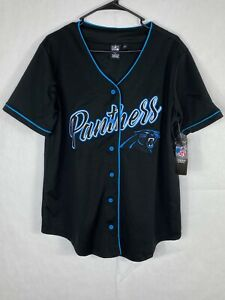 NWT Women's NFL Team Apparel Panthers Jersey Size M