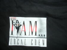 """Beyonce """"I Am"""" 2009 Tour T-Shirt Rare Limited Road Crew Shirt New/Unused Size:Xl"""