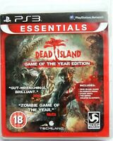 DEAD ISLAND Game of The Year Edition Sony PlayStation 3 PAL PS3 Region Free