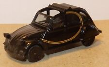 MICRO HERPA HO 1/87 CITROEN 2CV CHARLESTON NOIRE DECOUVRABLE REF 0820817 NO BOX2