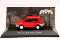 1:43 Altaya Gurgel BR 800SL 1991 Diecast Cars Models IXO Collection Toys Gift