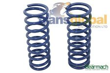 Land Rover Discovery 2 40mm Heavy Duty Lift Bearmach Blue Rear Coil Springs