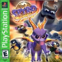 Complete Spyro Year Of The Dragon Greatest Hits - Original Sony PS1 Game