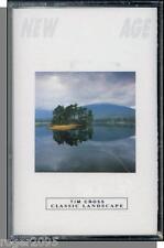 Tim Cross - Classic Landscape - New 1986 Classical/New Age Music Cassette Tape!
