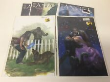 ANGEL ONLY HUMAN #1-5 (IDW/BUFFY VERSE/BRYNE VIRGIN VARIANTS/1217280) FULL SET