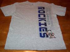 COLORADO ROCKIES MLB BASEBALL T-Shirt MEDIUM NEW