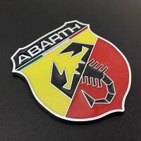 1x Car Aluminum Emblem Scorpion Sticker for ABARTH Fiat 500 695 Punto Brava etc.