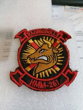 Rare patch armee us MARINES HELICOPTER ATTACK vietnam original
