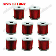 8x Fuel Oil Filter For SUZUKI DRZ 400 400E 400S 400SM LTZ400 ARCTIC CAT DVX400