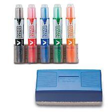 Pilot -  V Board Master Whiteboard Kit Markers Pens Magnetic Eraser Pen Holder