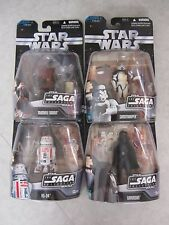 Star Wars ~ The Saga Collection ~ Lot Of 4 Escape from Mos Eisley ~ Hasbro 2006