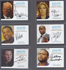 PSYCH Authentic Auto S5-9: Malcolm McDowell as Ambassador Fanshaw  (only) FreeSH