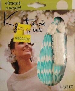 Vintage New Kotex Luxury Adjustable Sanitary Napkin Belt & 12 Tabbed Napkins