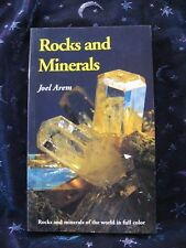 ROCKS AND MINERALS By Joel Arem  VG