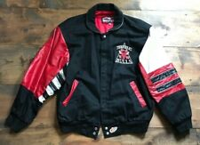 Jeff Hamilton Chicago Bulls Jacket-Limited Edition-NBA-Leather-Size L-Champions