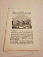 CR41) Park or Common Newark New Jersey 1861 Engraving